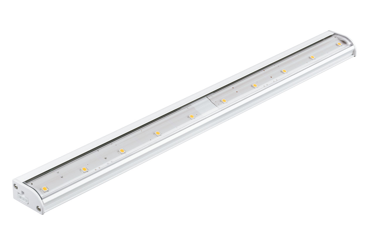 eW Profile Powercore gen4 – An ultra-low profile LED under-cabinet luminaire for workspace and accent lighting