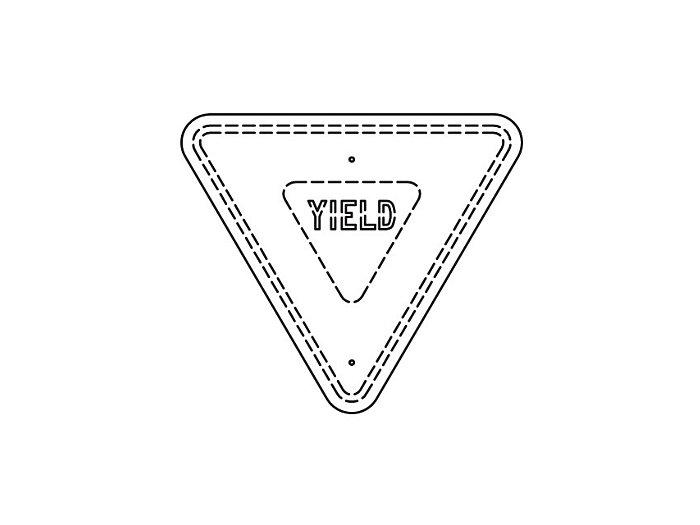 Flat Sign Backs (215FBT)