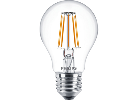 CLA LEDBulb ND 4.3-40W E27 WW A60 CL