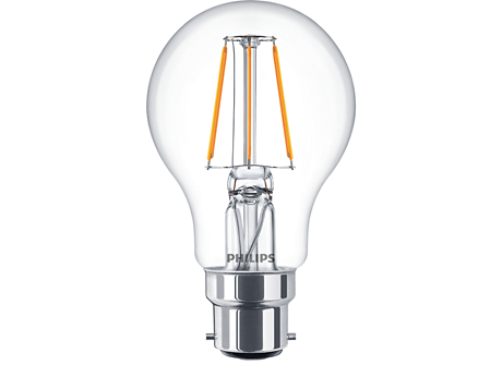 CLA LED bulb ND 4-40W B22 827 A60 CL