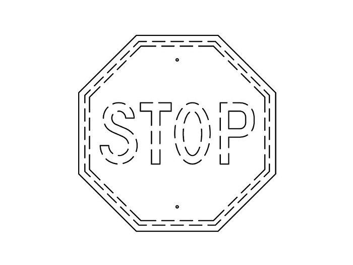 Flat Sign Backs (207FBT)
