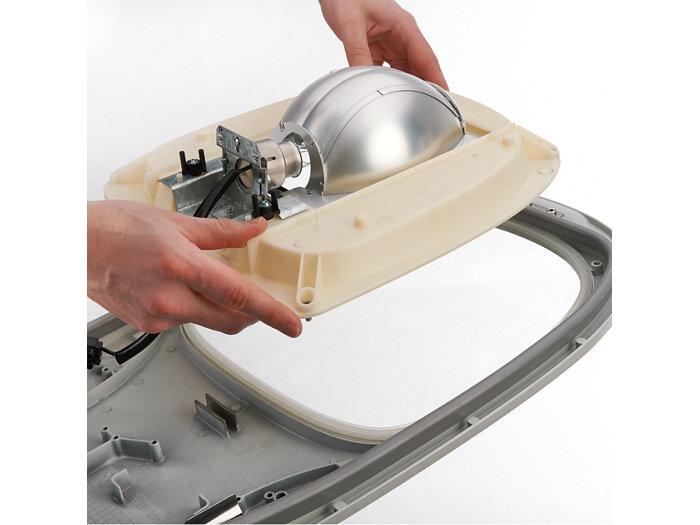Einfache Umrüstung von konventionell auf LED (Entnahme der Optik)