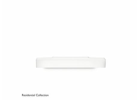Peace wall lamp white 1x36W 230V