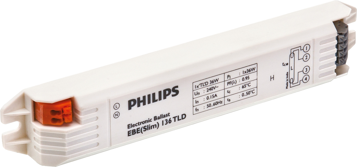 EB-E Electronic ballasts for TL-D lamps (India)