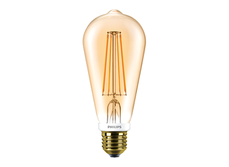CLA LEDBulb D 7-55W ST64 E27 825 GOLD