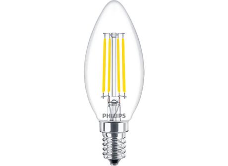 LED B35 1-25W E14 CL ND865