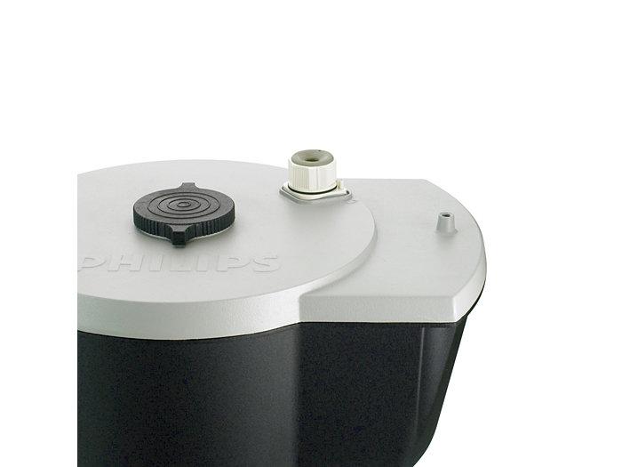 Waterproof external connector - closed