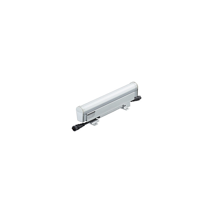 eW Accent Compact - High resolution media direct view linear LED luminaire with solid white light