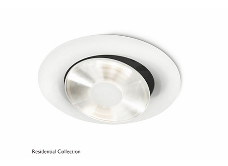 Yed recessed white 1x13W 21.4V