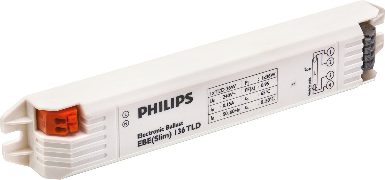 EB-E electronic ballasts for TL-D lamps