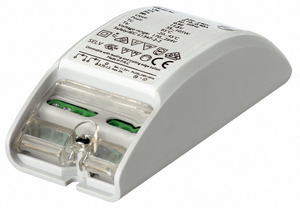 Primaline - A very compact electronic transformer for 12V halogen lamps