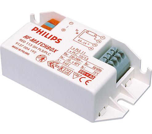HF-M RED 109 SH TL/PL-S 230-240V HF-Matchbox Red - Philips Lighting