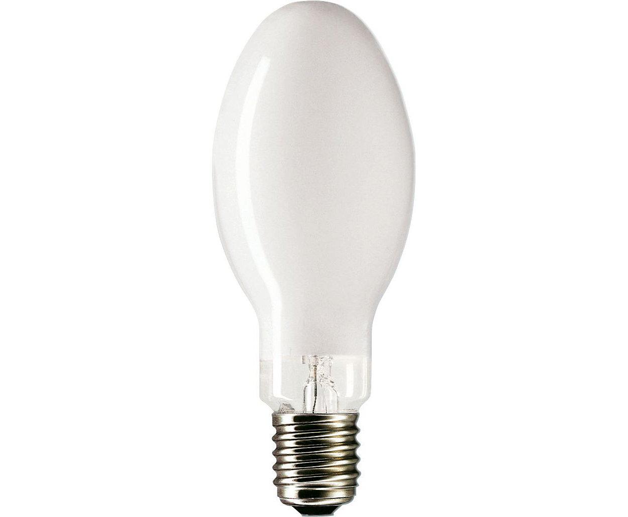 Il passaggio più semplice alla luce bianca confortevole