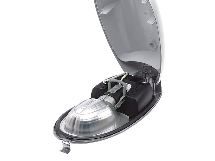 """Opti-C"", where the reflector forms one unit with the bowl, and the lamp holder is attached to the reflector."