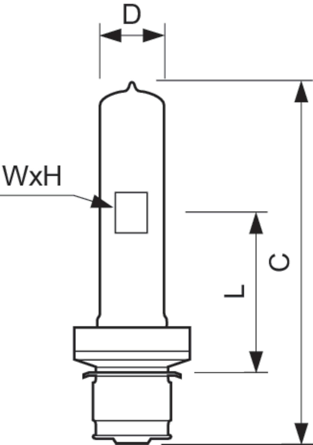 6800c 500w P28s 120v 1ct 10 Halogen High Voltage Se Theater Lighting Diagram Super Extended Lamp Life