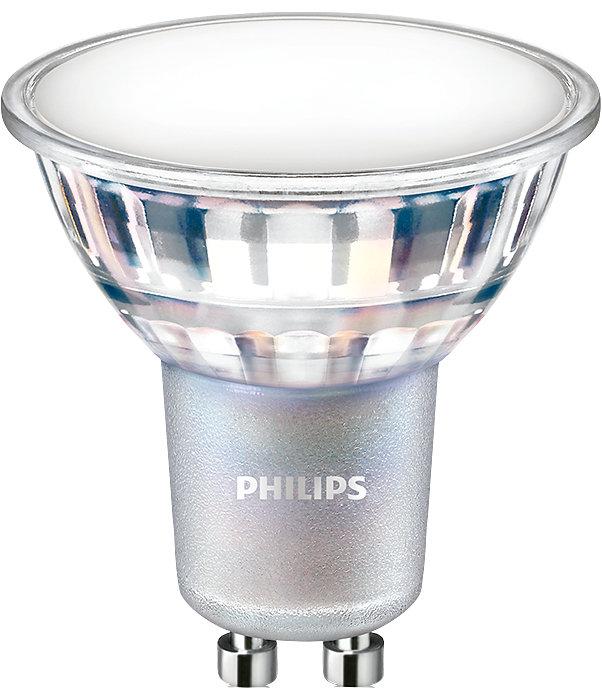 Doskonały LEDowy zamiennik relfektorów halogenowych na napięcie sieciowe. Pasuje do większości opraw z trzonkami GU10. Wersja z możliwością regulacji strumienia świetlnego oferuje możliwość tworzenia niepowtarzalnej atmosfery.