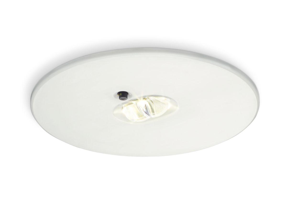 Illuminazione Emergenza Ristorante : Downlight di emergenza em b exit emergency philips lighting