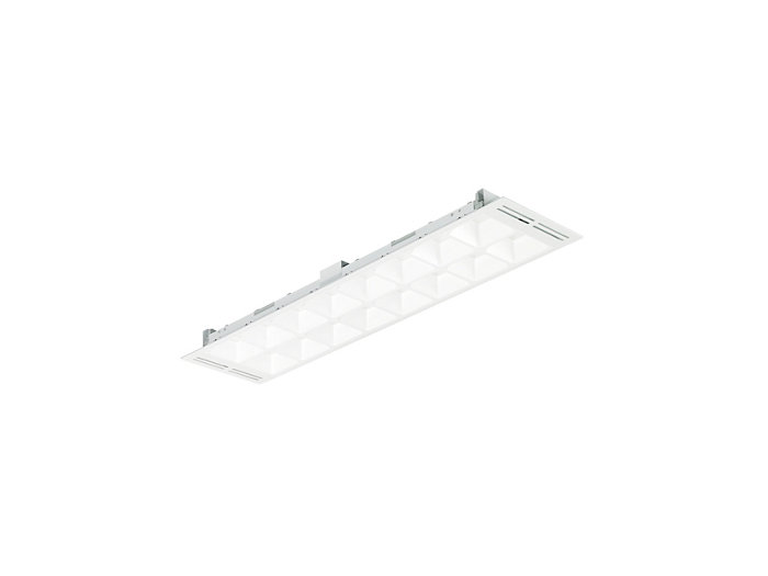 PowerBalance gen2 RC460B/RC461B recessed LED luminaire with airhandling (visible profile ceiling version)