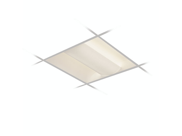 2x2, 2 Lamp F24T5HO, Low  Profile Reflector & White Opal Acrylic Diffuser
