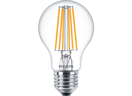 CLA LEDBulb ND 8-75W E27 WW A60 CL