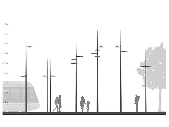2D rendering CitySoul gen2 Bracket - Accent
