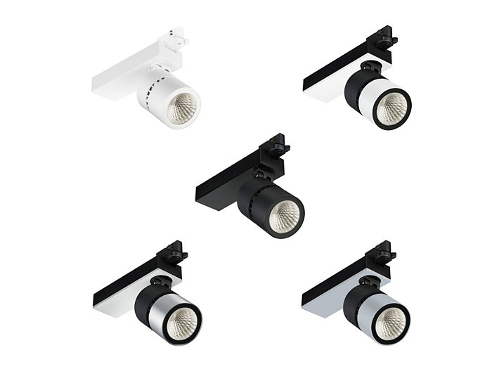 StyliD Compact track mounted; all colors available