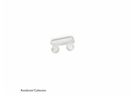 UNIVERSA bar/tube white 2x6W SELV
