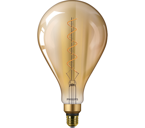 cla ledbulb nd 5 25w e27 2000k a160 gold classic ledbulb. Black Bedroom Furniture Sets. Home Design Ideas
