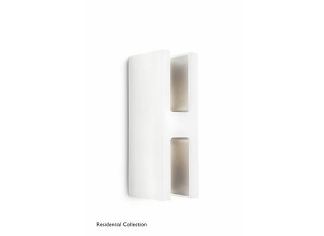 Sunlounge wall lantern white 2x6.5W SELV