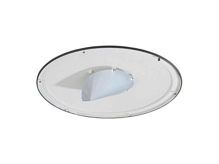 Top reflector, asymmetrical (TA)