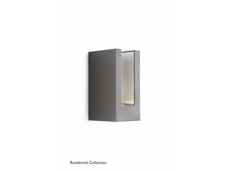 Sunlounge wall lantern anthracite 1x6.5
