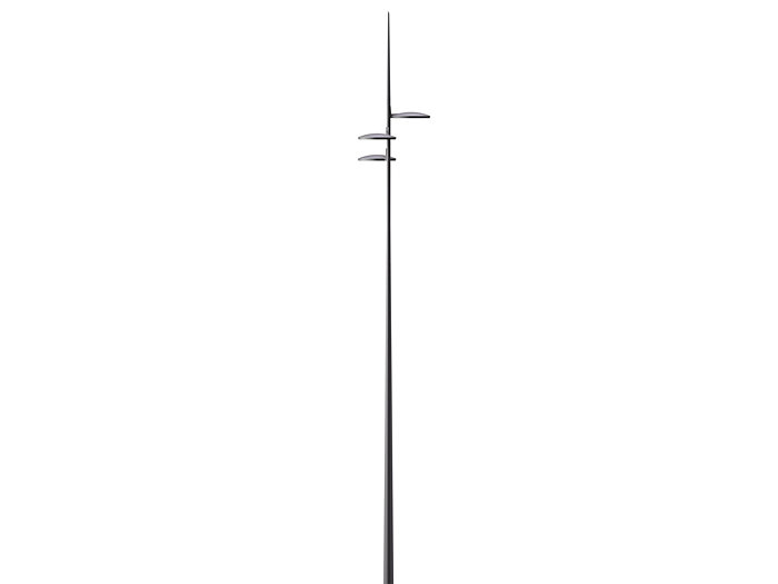 CitySoul gen2 with Accent spigot mounted on Ocean Straight pole