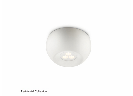 Nio ceiling lamp white 1x6W SELV