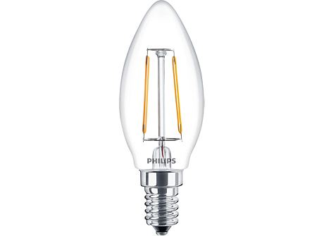 CLA LEDCandle ND 2-25W B35 E14 827 CL