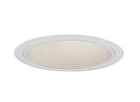 BASIC WHITE BAFFLE REFLECTOR TRIM