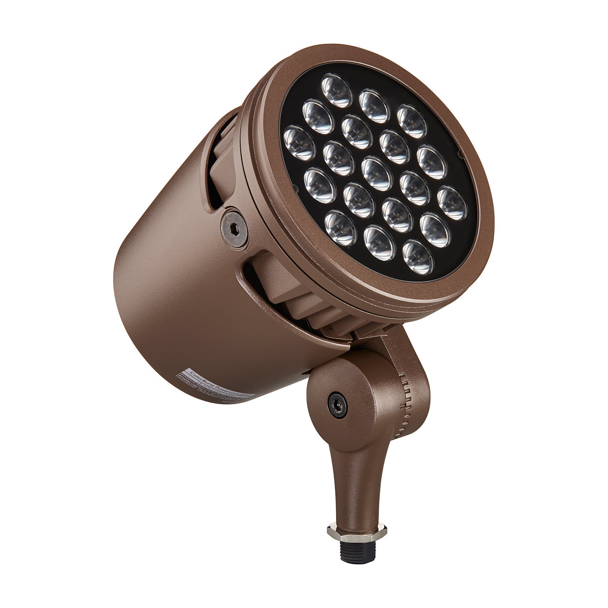 Architecturale LED-spotlight met intelligent gekleurd licht