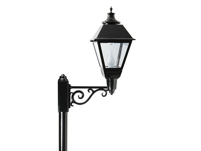 Square Lantern, 100 HPS, CLEAR TEMPERED GLASS, RR5 OPTIC