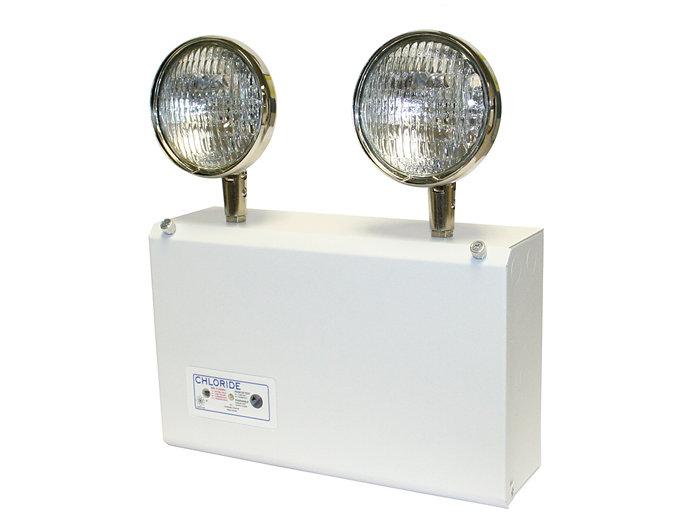 CMF Series - Die-formed Steel Emergency Unit, Nickel Cadium, 6V 75W, 12W Halogen Lamp