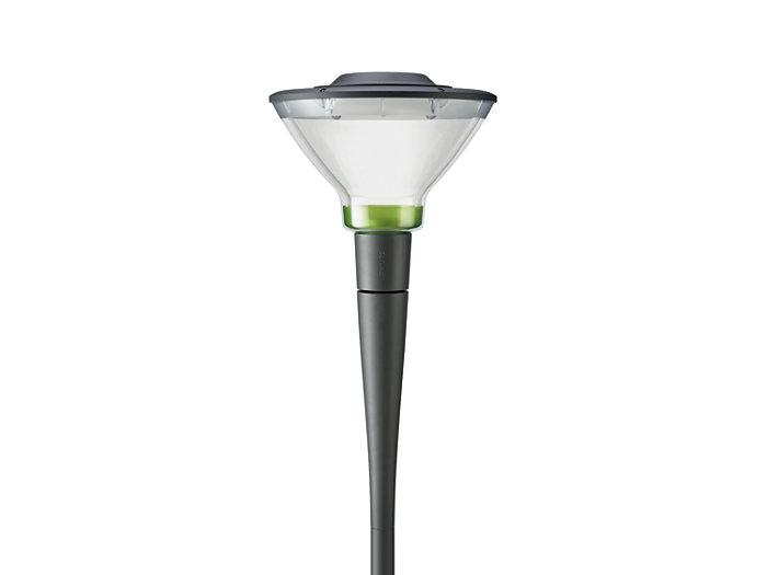 CityCharm Cone BDS491 może być dostarczona z kolorowymi, wewnętrznymi elementami dekoracyjnymi dla uzyskania ciekawego wygladu zarówno w dzień jak i w nocy.