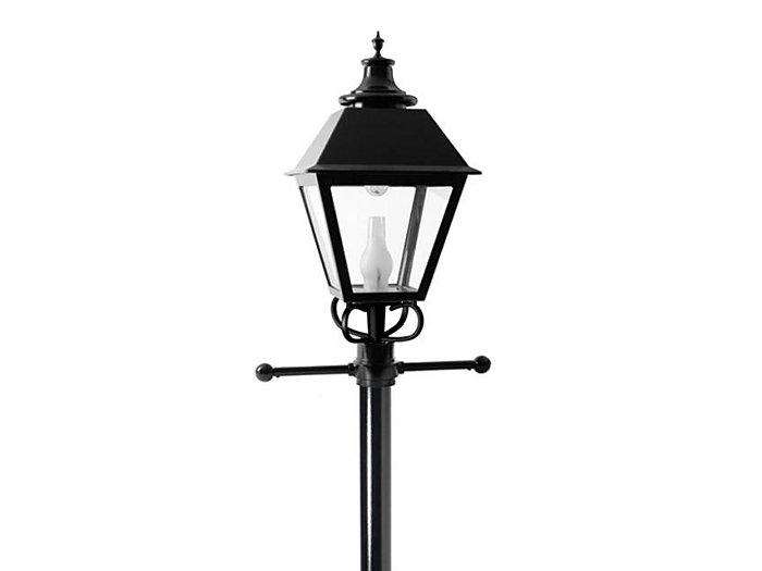 S26 Square Lantern LED 48 LED, Type V, 700mA, Clear Satin Globe 4000K