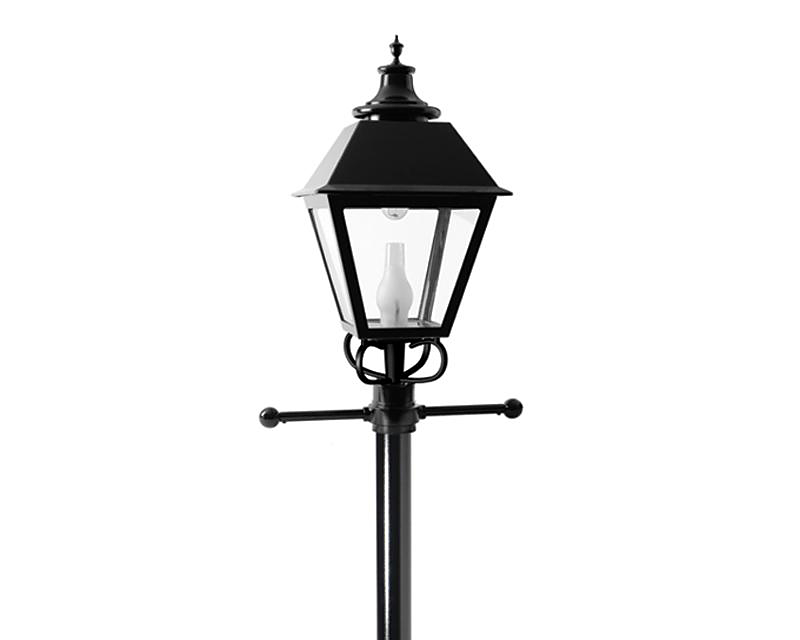 Square Lantern LED post top (S26A/S26N)