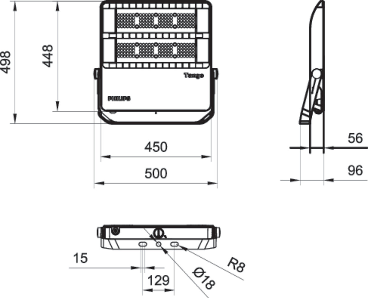 Bvp382 Led144 Nw 120w 220 240v Swb Gm Tango G3 Bvp38x Philips For Case 448 Wiring Diagram Excellent Area Lighting Within Your Budget