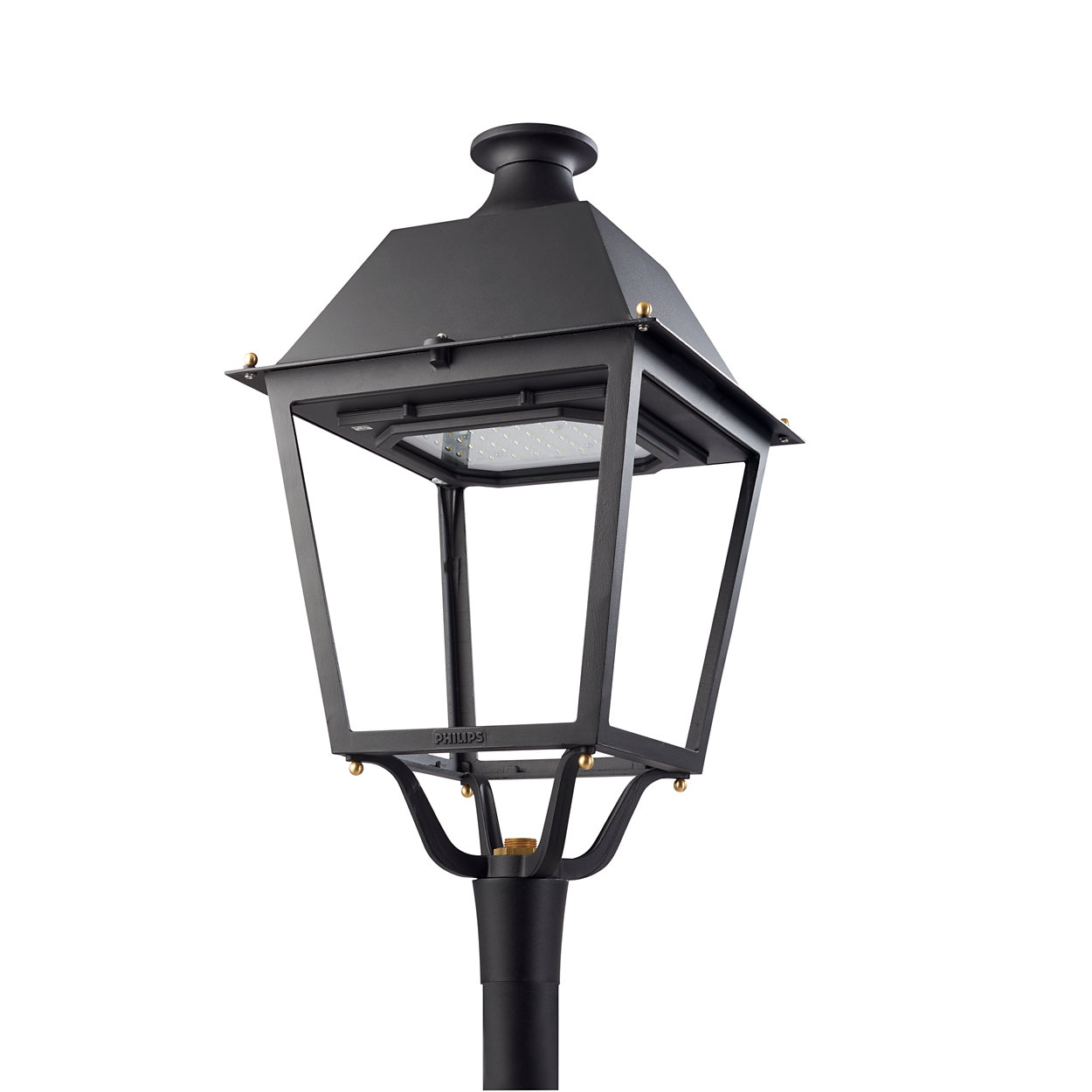 An iconic Iberian four-sided luminaire