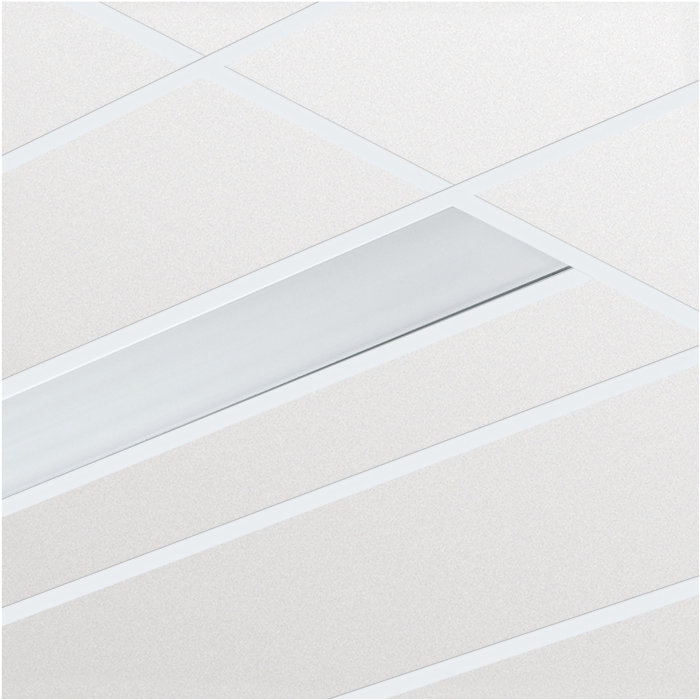 SmartForm – nowy standard oświetlenia biurowego, zapewniany przez wąskie oprawy przeznaczone do wbudowania