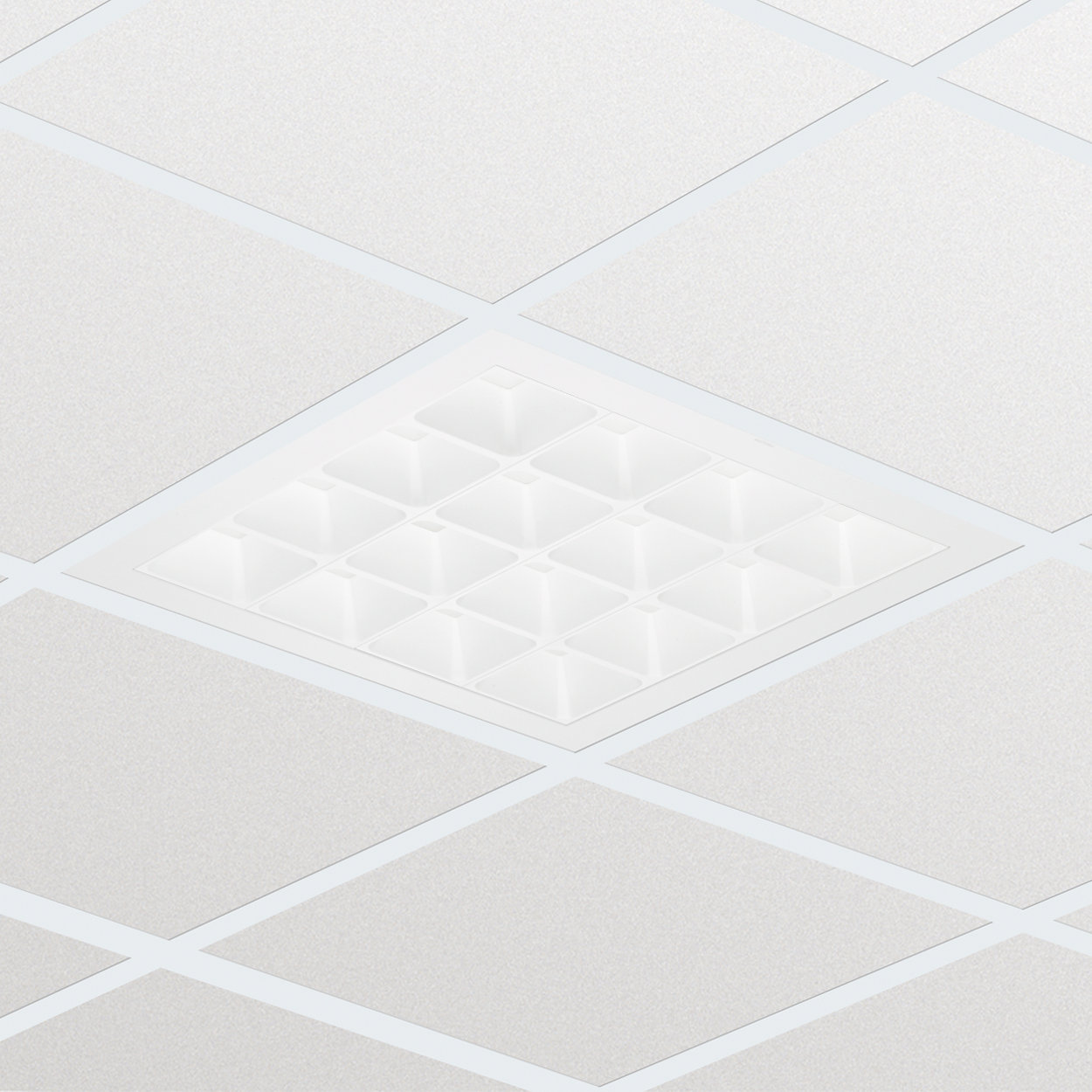 PowerBalance Tunable White, recessed - Supporting a general feeling of health and well-being