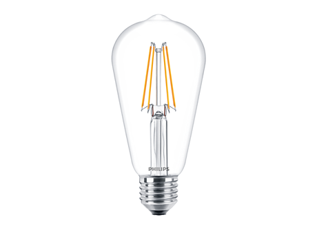 CLA LEDBulb ND 6-60W ST64 E27 827 CL