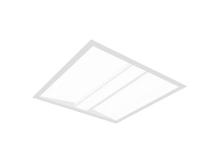 Shine 600x600mm LED, 4000 lm, 3000/3500/4000K Direct, Vaulted Acrylic Side Lens with Flat Center Channel