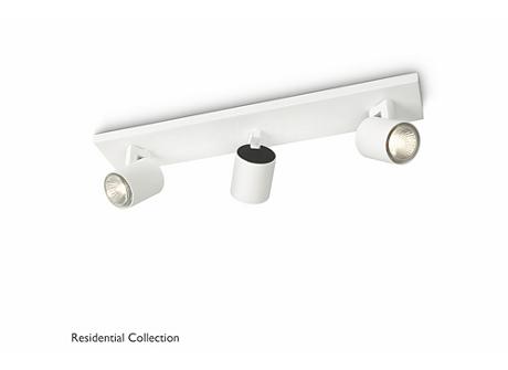 Runner bar/tube white 3x50W 230V