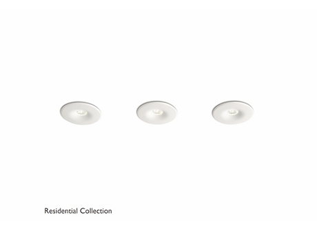 Merope recessed white 3x2W SELV
