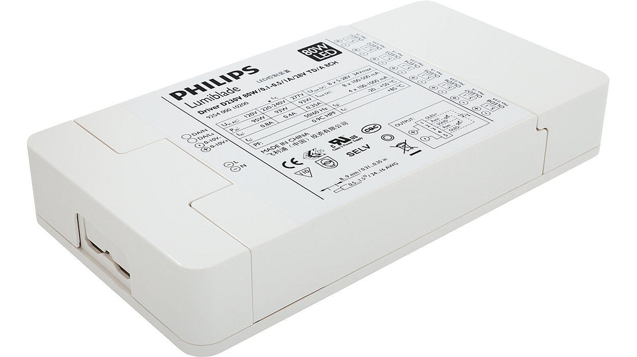 Philips Lumiblade OLED driver, mains voltage